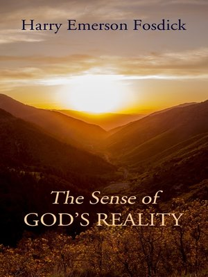cover image of The Sense of God's Reality