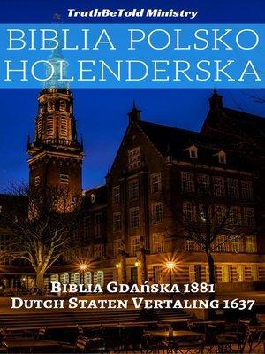 cover image of Biblia Polsko Holenderska