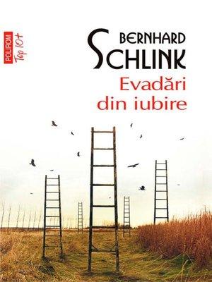cover image of Evadări din iubire