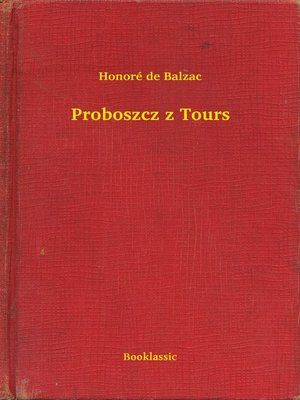 cover image of Proboszcz z Tours