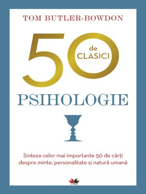 cover image of 50 de clasici. Psihologie