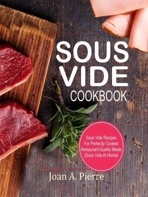 cover image of Sous Vide Cookbook
