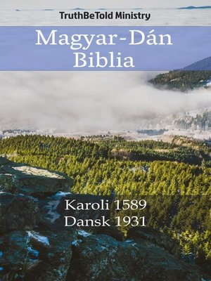 cover image of Magyar-Dán Biblia