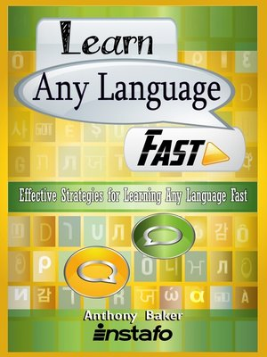 cover image of Learn Any Language Fast
