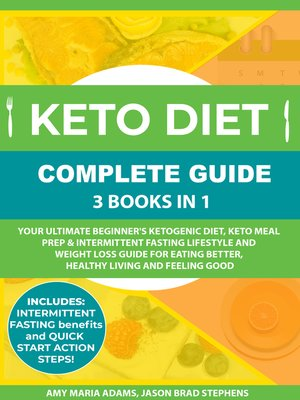cover image of Keto Diet Complete Guide: 3 Books in 1