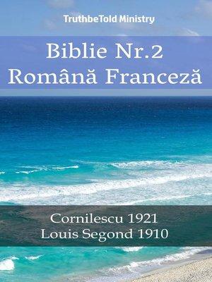 cover image of Biblie Nr.2 Română Franceză