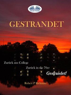 cover image of Gestrandet