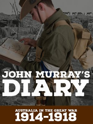 cover image of John Murray's Diary 1914-1918