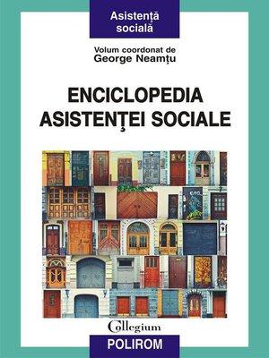 cover image of Enciclopedia asistenței sociale
