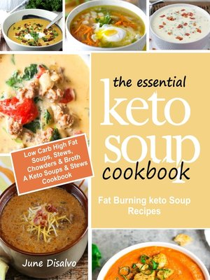 cover image of The Essential Keto Soup Cookbook
