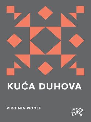 cover image of Kuća duhova i druge priče