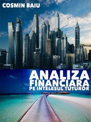 cover image of Analiza Financiara pe intelesul tuturor
