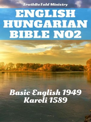 cover image of English Hungarian Bible No2