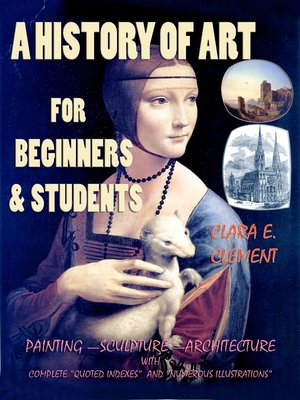 cover image of A History of Art for Beginners and Students