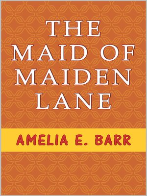 cover image of The Maid of Maiden Lane
