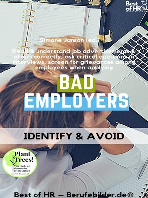 cover image of Bad Employers--Identify & Avoid