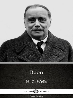cover image of Boon by H. G. Wells