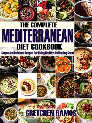 cover image of The Complete Mediterranean Diet Cookbook