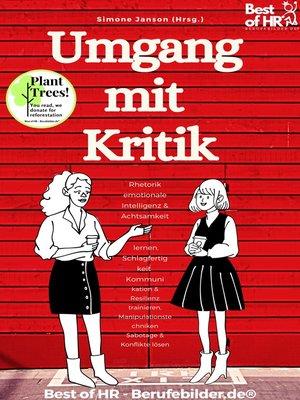 cover image of Umgang mit Kritik