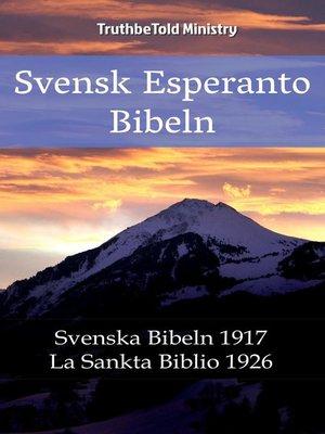 cover image of Svensk Esperanto Bibeln