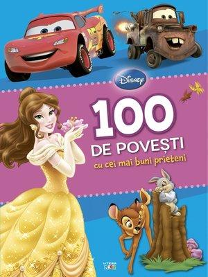 cover image of 100 de povești cu cei mai buni prieteni