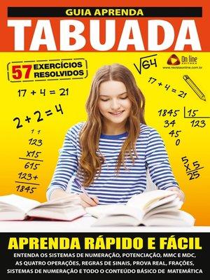 cover image of Guia Aprenda Tabuada