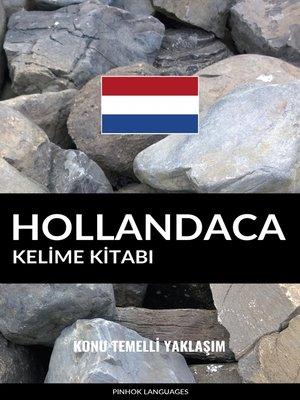cover image of Hollandaca Kelime Kitabı