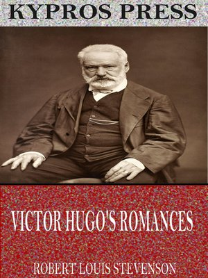 cover image of Victor Hugo's Romances
