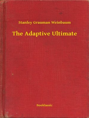 cover image of The Adaptive Ultimate