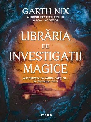 cover image of Libraria de investigatii magice