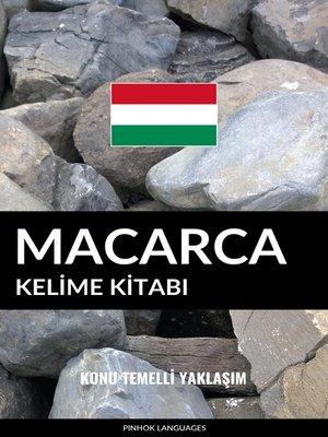 cover image of Macarca Kelime Kitabı