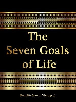 cover image of The Seven Goals of Life