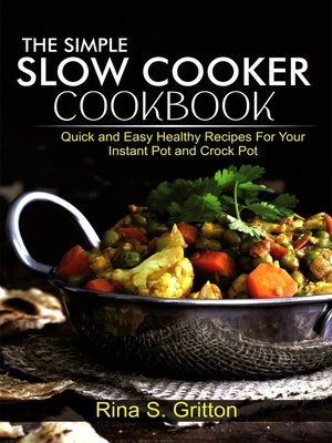 cover image of The Simple Slow Cooker Cookbook