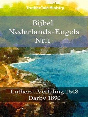 cover image of Bijbel Nederlands-Engels Nr.1