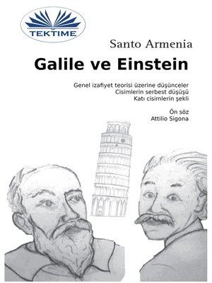 cover image of Galile Ve Einstein