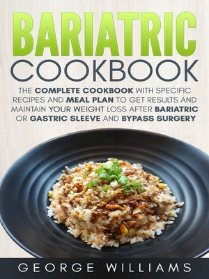 cover image of Bariatric Cookbook