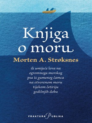 cover image of Knjiga o moru