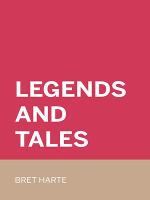 cover image of Legends and Tales