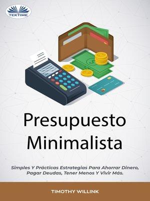 cover image of Presupuesto Minimalista