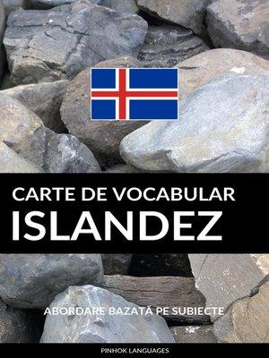 cover image of Carte de Vocabular Islandez
