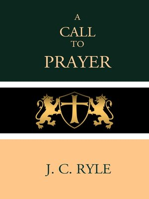 cover image of A Call to Prayer