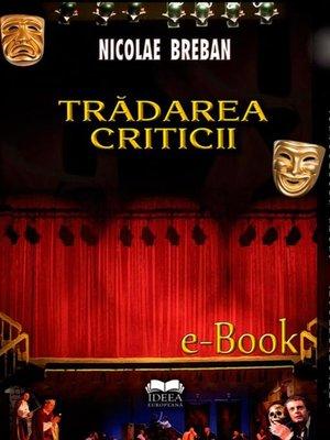 cover image of Trădarea criticii