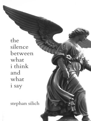 cover image of the silence between what i think and what i say