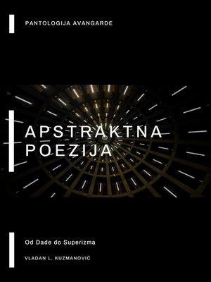 cover image of Apstraktna poezija
