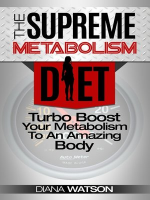 cover image of Metabolism Diet: Supreme Turbo Boost Your Metabolism To An Amazing Body