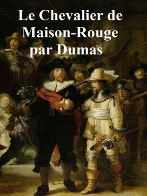 cover image of Le Chevalier de Maison-Rouge