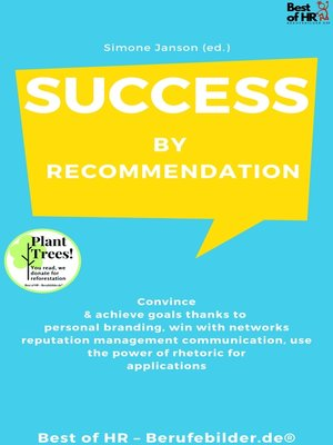 cover image of Success by Recommendation