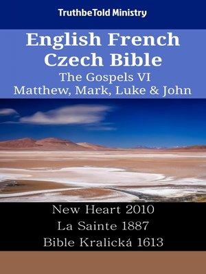 cover image of English French Czech Bible--The Gospels VI--Matthew, Mark, Luke & John