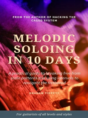 cover image of Melodic Soloing in 10 Days