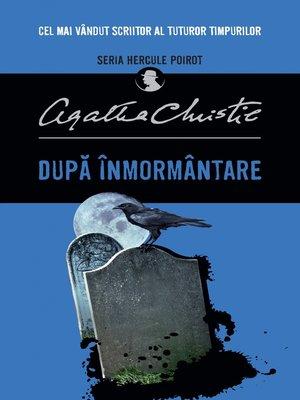 cover image of După înmormântare